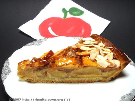 Apfelkuchenschnitte