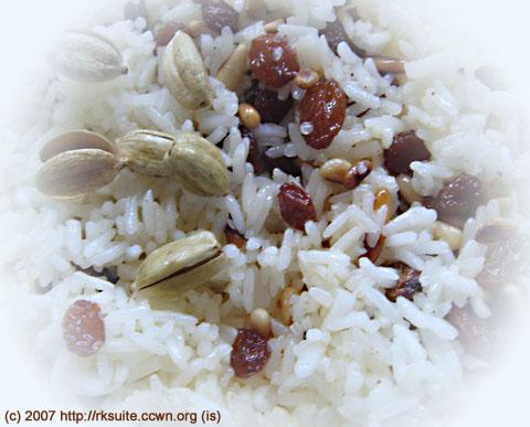 Arabischer Reis