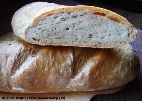 Panmarino (Rosmarin-Brot)