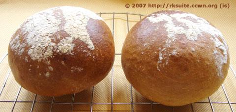 Brote zum Füllen