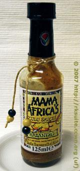 Mama Africa's Zulusauce Habanero
