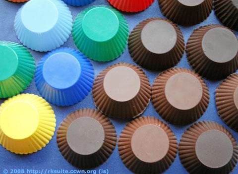 Schokoladenkörbchen