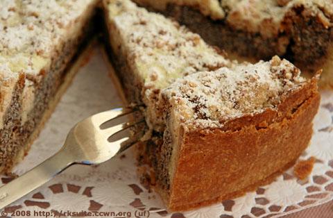 Quark-Mohn-Streuselkuchen