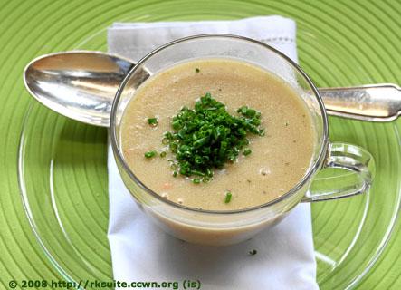 Geröstete Griessuppe