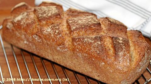 Weizenmischbrot mit Schrotanteilen_2