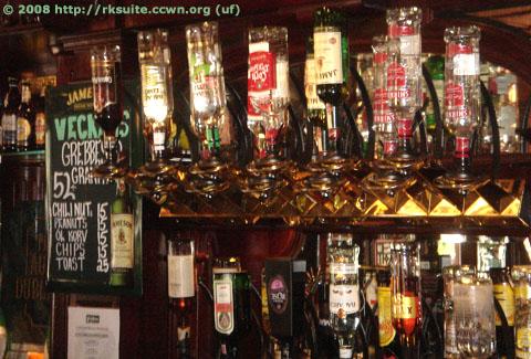 Getränke im Dubliner