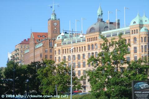 Göteborg beim Hafen