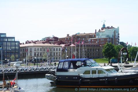 Göteborg am Hafen