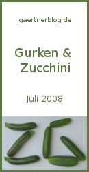 Gärtner-Blogevent Gurken + Zucchini