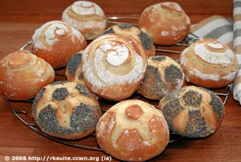 Brötchen nach Bäcker Süpke