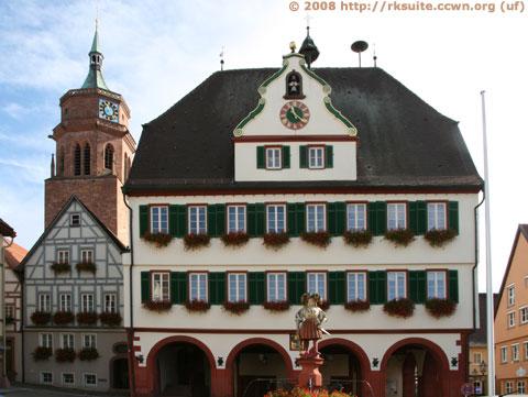Rathaus von Weil der Stadt