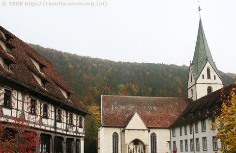 Kloster und Kirche in Blaubeuren