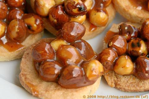 Nussknacker-Kekse aus der Nähe