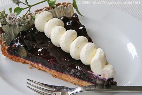 Heidelbeertarte - Tarte aux Myrtilles