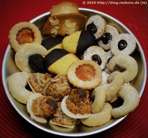 Weihnachtsbäckerei 2010