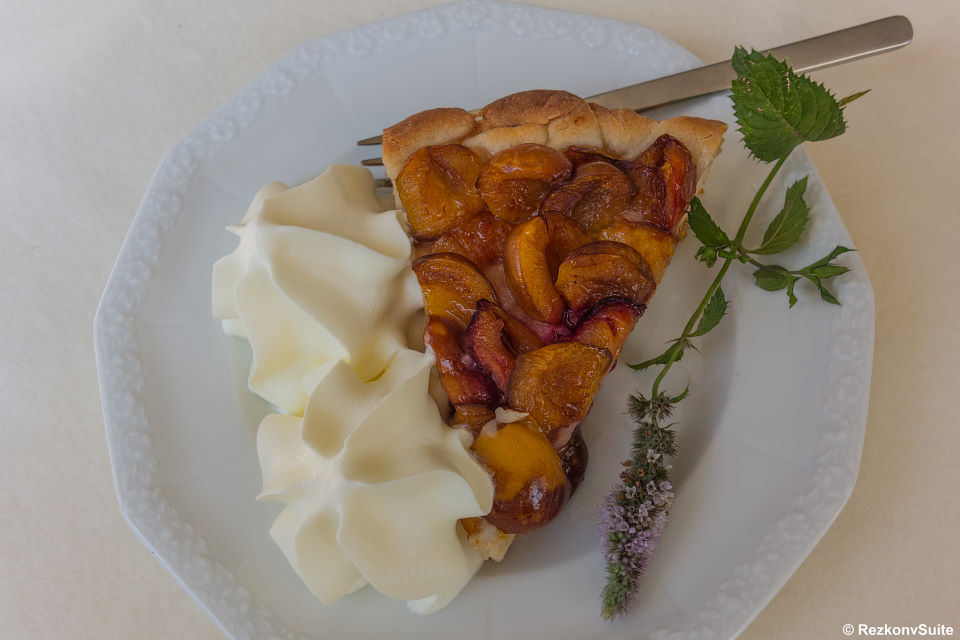 Mirabellen- Zwetschgenkuchen - aber bitte mit Sahne